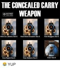 Carry On Meme - the concealed carry weapon defend the 2nd how car jackers see it how