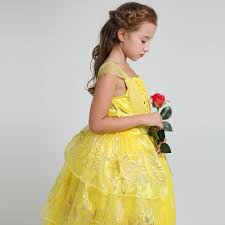 shop summer 2017 movie belle costume kids sweet princess