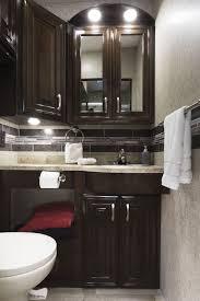 outlaw class a toy hauler motorhomes thor motor coach 2018 outlaw 37rb aces wild high gloss glazed milan bathroom