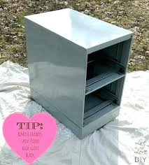 painting metal file cabinets painting a file cabinet elegant painting a file cabinet paint file