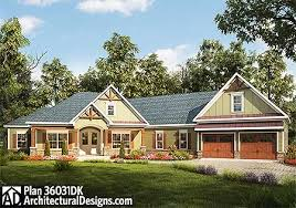 Angled House Plans Plan 36031dk Craftsman House Plan With Angled Garage Craftsman