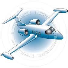cartoon jet plane vector illustration by clip art guy toon