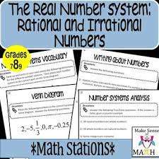 25 best rational number images on pinterest real numbers