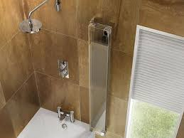 cleargreen hinged bath screen four fold uk bathrooms