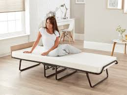 Single Folding Guest Bed Be Supreme Single Folding Guest Bed With Memory Foam Mattress