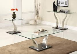 contemporary coffee table sets glass modern coffee table sets