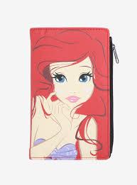 Blind Mice Mart Movie Vault Loungefly Disney The Little Mermaid Ariel Buckle Clutch Wallet
