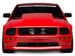 2007 mustang grill 2005 2009 mustang grilles americanmuscle