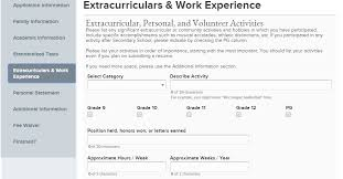 Examples Of Resumes For College Applications by Tips For Applying To College With The Universal College