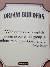 disney quote end of meet the robinsons dream builder sign at walt disney world