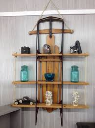 vintage on the shelf there are many different uses for vintage shelves like this sled