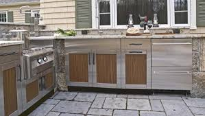Outdoor Kitchens Cabinets Sloan Outdoors Best Stainless Steel Outdoor Cabinets Sloan Within