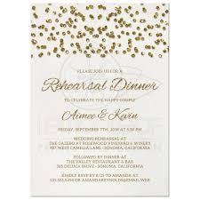 rehearsal luncheon invitations rehearsal dinner invitations glamorous glitter look confetti dots