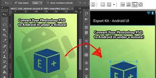android studio ui design tutorial pdf convert a psd to android xml ui and java export kit