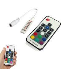 17 key rf wireless remote controller for 5050 3528 rgb light