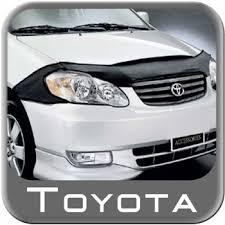 toyota corolla auto parts the best 2007 toyota corolla car bra from brandsport auto