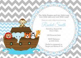 noah ark baby shower invitations iidaemilia com