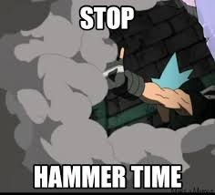 Hammer Time Meme - hammer time by dinochickrox on deviantart