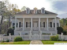 Front Porches On Colonial Homes French Colonial In Birmingham Outside Pinterest French