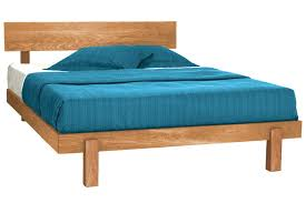 skyline natural chemical free cherry wood platform bed frame the
