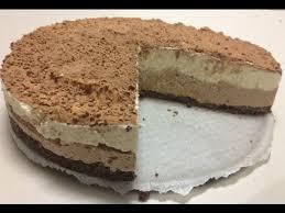 triple chocolate cheesecake no bake recipe youtube