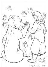 brother bear coloring pages coloring book