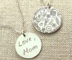 custom handwriting necklace custom handwriting jewelry personalized gift personalized