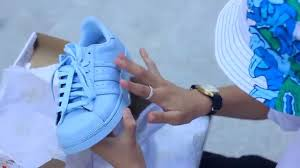 adidas superstar light blue a day out with the superstars adidas x pharell wiliiams youtube