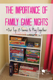 the importance of family nights family
