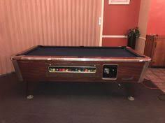 Valley Bar Table Valley Coin Operated Pool Table Vintage And Collectibles
