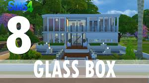 Glass Box House The Sims 4 Houses 8