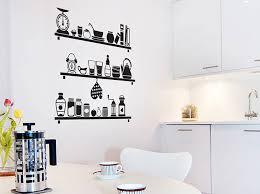 stickers de cuisine décorer la cuisine avec des stickers décoration
