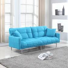 Teal Color Sofa by Futons You U0027ll Love Wayfair