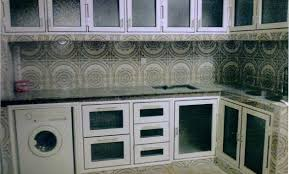 cuisine aluminium déco placard cuisine aluminium maroc 96 caen placard mural
