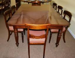 Antique Regency Dining Chairs Antique Regency Dining Table C 1820 And 8 Vintage Chairs At 1stdibs