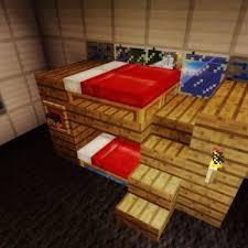 Minecraft Pe Furniture Bunk Bed Minecraft Pinterest - Minecraft bunk bed
