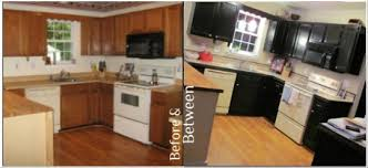 painted black kitchen cabinets before and after chalk paint kitchen cabinets before and after kitchen design ideas