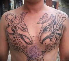 46 classic egyptian tattoos designs on rib
