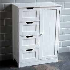 free standing storage cabinet tall boy storage cabinet white wooden cupboard bathroom unit