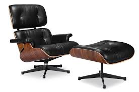 Lounge Armchair Eames Lounge Chair Vitra Black Manhattan Home Design