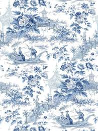 toile with a chinoiserie wallpaper pinterest chinoiserie