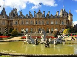 waddesdon manor visiting waddesdon manor blenheim palace and tatton park