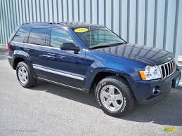 sidekick jeep 2006 midnight blue pearl jeep grand cherokee limited 4x4 11540241