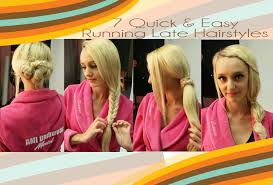 cute hairstyles you can do in 5 minutes 7 quick easy 5 minute hairstyles youtube