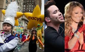 macy s thanksgiving day parade prince royce carey among
