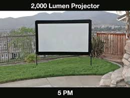 Backyard Projector Outdoor U0026 Backyard Theater Guide Projector People