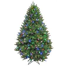 artificial tree led lights with 7 5 ft pre lit led