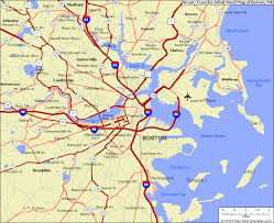 boston city map large boston city map map photos and images