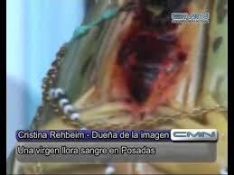 imágenes religiosas que lloran sangre imagenes de jesus y de la virgen maria lloran sangre en posadas y en