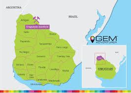 Map Of Uruguay Uruguayan Amethyst Gem Adventurer
